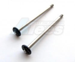 GPM Racing Miscellaneous Accessories - Steel Shafts Steel Shaft 3.17mm X 59mm (2) for 115MM GPM Shocks