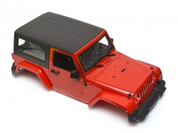 '' 'All' 'Wrangler Body For 1/10 RC Crawler Hard Top Red'