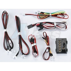 '' 'All' 'Led Light System W/Control Box (18 LED)'