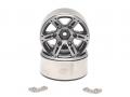 Miscellaneous All EVO™ 1.9 High Mass Beadlock Aluminum Wheels Twin - 6D (2) by Boom Racing