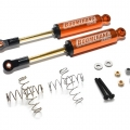 Miscellaneous All Boomerang™ Type I Aluminum Internal Shocks Set 110MM (2) Orange [OFFICIAL RECON G6 SHOCKS]  by Boom Racing