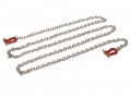 Miscellaneous All Scale Accessories - Chain w/ Hook Red by Team Raffee Co.
