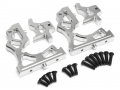 Team Losi Desert Buggy XL Aluminum Rear Gearbox Mount Silver by VIM