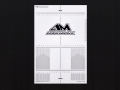 Miscellaneous All Plastic Set-up Board Decal for 1/10 by Arrowmax