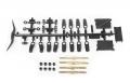 Axial Yeti Yeti™ Turnbuckle Set (Aluminum) (4pcs) by Axial Racing