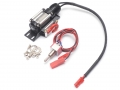 Miscellaneous All Aluminum Winch for 1/10 Rock Crawler Black With Optional Remote [Recon G6 Certified] by Boom Racing