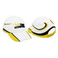 Miscellaneous All Scorpion Motor Cap (White/Yellow)  by Scorpion