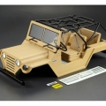 Miscellaneous All 1/10 Scale Crawler Finished Body WARRIOR Matte Military Desert Color (Printed) Light buckets assembled by Killerbody