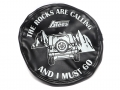 Miscellaneous All Soft Faux Leather Tire Cover For 1.9 Crawler Tires - The Rocks Are Calling by ATees
