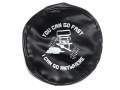 Miscellaneous All Soft Faux Leather Tire Cover For 1.9 Crawler Tires - You Can Go Fast by ATees