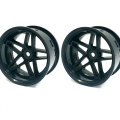 Miscellaneous All Super Rim Black And Black Southern Cross 2pcs Set by Team-Tetsujin