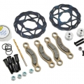 Miscellaneous All MIP 1/5th Scale, Real Brakes Kit, Losi 5ive-T #14360 by MIP