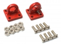 Miscellaneous All 1/10 Scale RC Aluminum Tow Recovery Point Set (Red) by Boom Racing