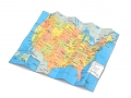 Miscellaneous All Scale Accessories - Map Of USA by Top-Shelf Hobby