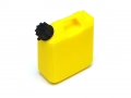 Miscellaneous All Scale Accessories - Gas Can Tall Yellow by Top-Shelf Hobby