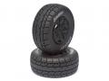 Team Losi TEN-SCTE 4WD Louise 1/10 SC-ROCKET Performance Short Course Tire Soft / Black Rim / Mounted by Louise RC