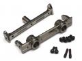 Axial SCX10 Aluminum Front Bumper Mount - 1 Pc Gun Metal [RECON G6 The Fix Certified]  by Boom Racing
