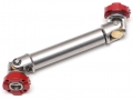 Miscellaneous All Aluminum Steel Adjustable Center Driveshaft 90-110mm by Hercules Hobby
