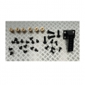Miscellaneous All Differential Lock Mounts for 1/14 Aluminum Powered Axle by Hercules Hobby