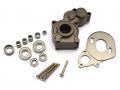 Axial SCX10 Aluminum Center Gearbox Gun Metal by Team Raffee Co.