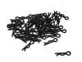 Miscellaneous All Small-Ring Body Clips 50 pcs (15mm) Black by Team Raffee Co.