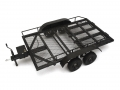 Miscellaneous All 1/10 Scale Aluminum Dual Axle Trailer For Scale Trucks & Crawlers W/ Leaf Spring by Team Raffee Co.