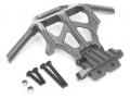 Axial Yeti Aluminum Front Bumper Set - 1 set Gun Metal by Boom Racing