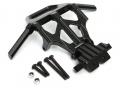 Axial Yeti Aluminum Front Bumper Set - 1 set Black by Boom Racing