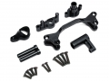 Boom Racing Axial Yeti Aluminum Steering Bellcrank Set (6 Pcs) Black