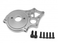 Axial Yeti Aluminum Motor Mount - 1 Set Silver by Boom Racing