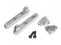 Axial Yeti Aluminum Anti-Sway Bar Arms - 1 Pair Silver by Boom Racing