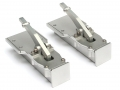 Miscellaneous All 1/14 Aluminum Landing Gear For Trailer Silver by Hercules Hobby