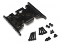 Axial SCX10 Aluminum Skid Plate - 1 pc Black [RECON G6 The Fix Certified]  by Boom Racing