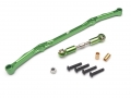 Axial SCX10 Aluminum Steering Linkage - 1 Set Green [RECON G6 The Fix Certified]  by Boom Racing