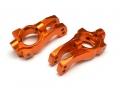 HPI Apache Aluminum Front C-Hub - 1 Pair Orange by Boom Racing