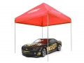 Miscellaneous All ATees 1/10 Scale EZ Up Compact Pit Tent Canopy - 1 Set Red by ATees