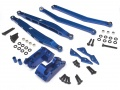 Axial Yeti Axial Yeti Performance Combo Package C With Tool Box (Rear 4 Link Mounts,Rear Upper Links,Rear Lower Links,Rear Multi Shock Mount) Blue by Boom Racing