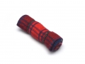 Miscellaneous All Scale Accessories - Rolled Blanket Red/Blue Plaid  by Top-Shelf Hobby
