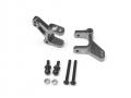 Kyosho NeXXt Aluminum C Hub - 1 Pair Gun Metal by Boom Racing