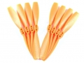 Miscellaneous All 3020 CW/CCW (pairs) orange color, 4 pairs per bag by DYS