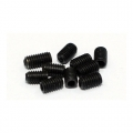 Miscellaneous All M3X5MM Set Screw (10) Black by Team Raffee Co.