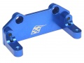 Gmade Sawback Aluminum Servo Plate - 1 Pc Blue by Boom Racing