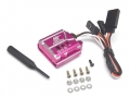 Miscellaneous All 007 RC Car Gyro High Stability Aluminum Gyroscope For Drift RWD With Universal Mounting Tray - 1 Set Pink by Boom Racing