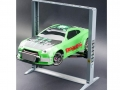 Miscellaneous All Aluminum Scale Automotive Car Lift for 1/10 RC Grey by Team DC