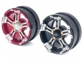 Miscellaneous All 2.2 Inch Metal Hub/ Red a pair by Team DC