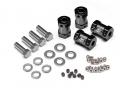 Boom Racing Miscellaneous All KRAIT™ Aluminum Wheel Widener (4) (Offset: +14mm) - Black