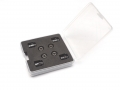 Miscellaneous All Aluminum Magnetic Body Post Locator - 1 Set Black by Team Raffee Co.