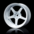 Miscellaneous All GT Offset Changeable Wheel Set (4) White by MST
