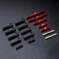 MST FXX-D FXX-D S Turnbuckle Shaft Set Red by MST