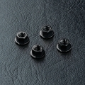 Miscellaneous All Aluminum Wheel Nut (4) Black by MST